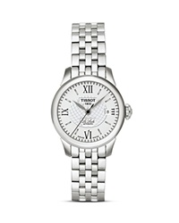 Tissot Le Locle Women's Silver Stainless Steel Automatic Watch 25Mm