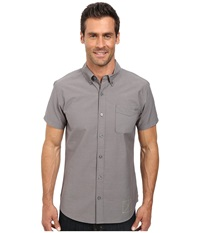Outdoor Research Tisbury S S Shirt Pewter Men's Short Sleeve Button Up