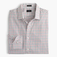 J.Crew Crosby Shirt In Red Tattersall Spanish Red