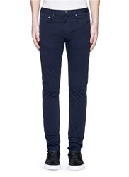 Paul Smith Slim Fit Denim Pants Blue