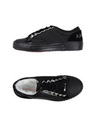Alessandro Dell'acqua Low Tops And Trainers Black