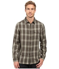 Royal Robbins Pinecrest Plaid Long Sleeve Shirt Dark Olive Men's Clothing