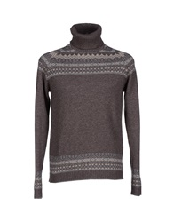 Alpha Massimo Rebecchi Turtlenecks Cocoa