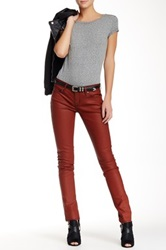 Rich And Skinny Coated Skinny Jean Red