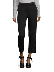 3.1 Phillip Lim Wool Tuxedo Pencil Pants Black