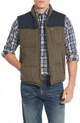 Men's Timberland 'Bolton Mountain' Colorblock Quilted Down Vest