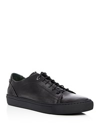 Ted Baker Kiing Leather Brogue Lace Up Sneakers Dark Grey