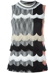 Missoni Sleeveless Knitted Top Multicolour