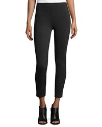 Peserico Pull On Jersey Leggings Charcoal Grey