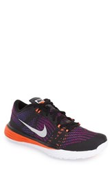 Men's Nike 'Lunar Caldra' Training Shoe Black White Violet Concord
