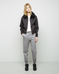3.1 Phillip Lim Sweatpant With Pointed Stitch Waistband Charcoal
