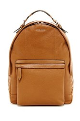 Cole Haan Pebble Leather Backpack Brown