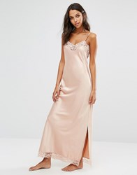 Y.A.S Maxi Slip Nightdress Rose Pink