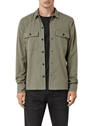 Allsaints Fearnot Shirt Light Khaki Green