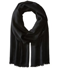 Love Quotes Travel Weight Cashmere Scarf Black Scarves
