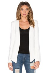 James Jeans V Boyfriend Blazer White