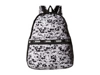 Le Sport Sac Basic Backpack Mickey Loves Minnie Backpack Bags White
