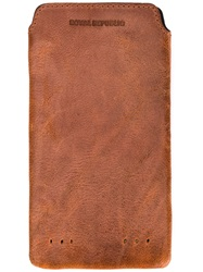 Royal Republiq Leather Iphone 6 Cover Brown