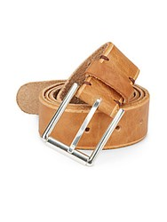 Will Leather Goods Leather Belt Tan