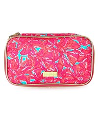 Cruising Floral Print Cosmetic Case Multi Colors Lilly Pulitzer