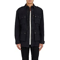 Faith Connexion Men's Canvas Field Jacket Blue