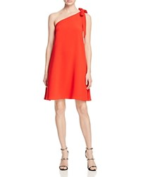 Likely Quincy Bow One Shoulder Dress 100 Bloomingdale's Exclusive Scarlet Red