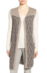 Nic Zoe Women's 'Traveling Cables' Long Sweater Vest