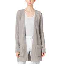 Michael Kors Shaker Stitch Cashmere And Linen Cardigan