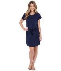 Allen Allen S S Raglan Dress Lapis Women's Dress Navy