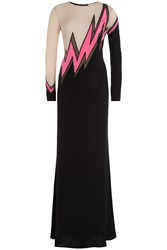 Emilio Pucci Silk Evening Gown Multicolor