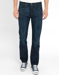 Levi's Faded Dark Blue 501 Smith Nation Jeans