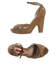 Janet And Janet Sandals Khaki