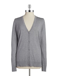 Bailey 44 Caselli Contrast Cardigan Light Heather