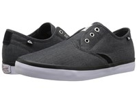 Quiksilver Shorebreak Deluxe Black Black White 2 Men's Lace Up Casual Shoes
