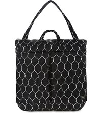 Undercover Chain Link Printed Tote Black