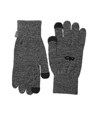 Outdoor Research Biosensor Liners Charcoal Extreme Cold Weather Gloves Gray