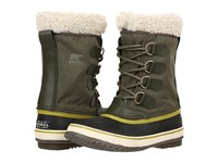 Sorel Winter Carnival Peatmoss Women's Cold Weather Boots Green