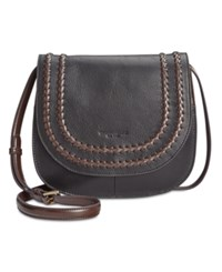 Tignanello Classic Boho Saddle Bag Black