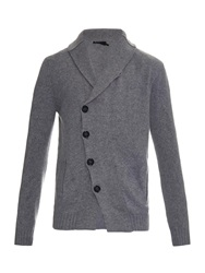 Alexander Mcqueen Wool And Cashmere Blend Cardigan