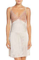 Mimi Holliday 'Lilium' Silk Chemise Dusty Peach