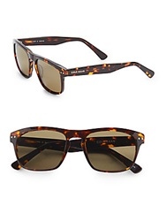 Cole Haan 54Mm Modified Wayfarer Sunglasses Tortoise