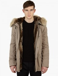 Yves Salomon Fur Lined 78.5Cm Parka