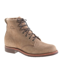 Original Chippewa For J.Crew Suede Plain Toe Boots Sand