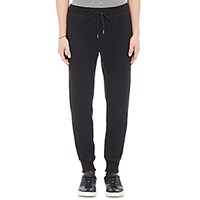 Theory Men's Moris P Sweatpants Black Blue Black Blue