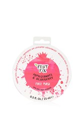 Topshop Fruit Fix Pomegranate And Blueberry Face Mask Pink