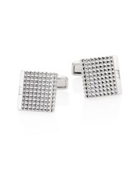 Dunhill Grid Cufflinks No Color