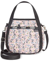 Le Sport Sac Lesportsac Peanuts Collection Small Jenni Crossbody Happiness Dots