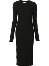 Getting Back To Square One Classic Bodycon Dress Black