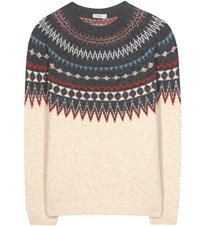 Closed Alpaca And Wool Blend Sweater Multicoloured