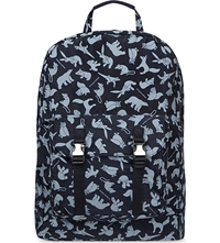 C6 Christopher Raeburn Animal Print Backpack Navy